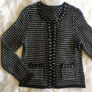 WHBM • Beaded Dress Jacket